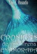 """Portada del libro """"Crónicas de una sirena enamorada"""""""