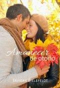 """Portada del libro """"Amanecer de otoño"""""""