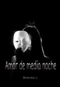 """Portada del libro """"Amor de media noche"""""""