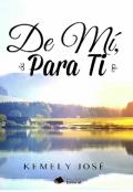 """Portada del libro """"De Mí, Para Ti"""""""
