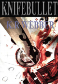 "Book cover ""Knifebullet"""