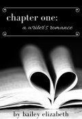 "Book cover ""Chapter One: A Writer's Romance"""