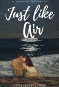 """Portada del libro """"Just like Air """""""