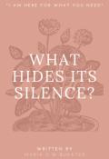 """Portada del libro """"¿que Esconde Su Silencio?"""""""