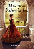 """Portada del libro """"El secreto de Madame Leblanc"""""""