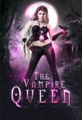 "Book cover ""The Vampire Queen. A Young Adult Paranormal Romance"""