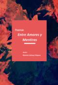 """Portada del libro """"Poemas: Entre Amores y Mentiras"""""""