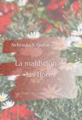 """Portada del libro """"La maldición de las flores"""""""