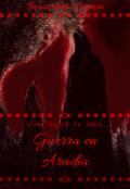 """Portada del libro """"Ojos Rojos Libro I I I : """"Guerra en Aradia"""""""""""