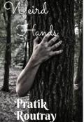 """Book cover """"Weird hands"""""""