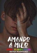 """Portada del libro """"Amando a Milo"""""""
