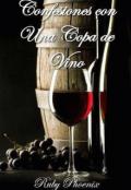 """Portada del libro """"Confesiones con una Copa de Vino."""""""