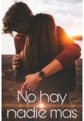 """Portada del libro """"No hay nadie mas"""""""