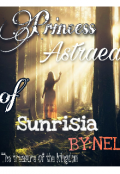 "Book cover ""Princess Astraea of Sunrisia"""