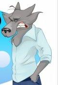 "Book cover ""Серый волк"""
