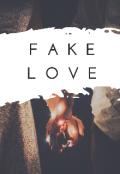 """Portada del libro """"Fake love (bts)"""""""