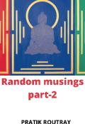 "Book cover ""Random musings  Part-2"""