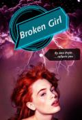"""Book cover """"Broken Girl """""""