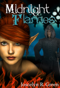 "Book cover ""Midnight Flames"""