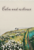 "Book cover ""Calm and silence"""