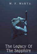 """Portada del libro """"The Legacy Of The Sapphire [1]"""""""