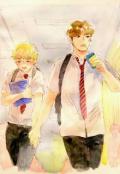 """Portada del libro """"El corazón de Seúl """"♡"""" (kookmin-Jikook.)"""""""