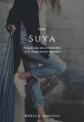 """Portada del libro """"Suya"""""""