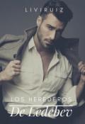 """Portada del libro """"Los Herederos De Ledebev """""""
