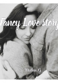 """Book cover """"Fancy Love story"""""""