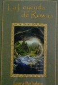 """Portada del libro """"La leyenda de Rowan"""""""