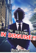 """Book cover """"The Blessing in disguise """""""