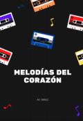 """Portada del libro """"Melodias del corazón"""""""