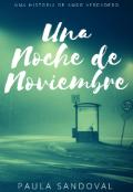 """Portada del libro """"Una Noche de Noviembre"""""""
