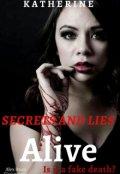 """Book cover """"Alive"""""""