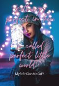 """Book cover """"Nothing's Perfect In Her So-called Perfect Little World"""""""