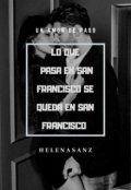 """Portada del libro """"Lo que pasa en San Francisco se queda en San Francisco """""""