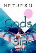 """Book cover """"Netjeru: Gods Sins"""""""