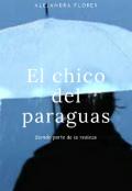 """Portada del libro """"El chico del paraguas"""""""