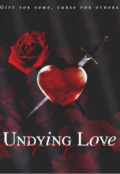 "Book cover ""Undying love"""