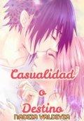 """Portada del libro """"Casualidad o Destino (sasusaku)"""""""