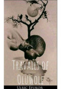 """Book cover """"Travails of Oluwole"""""""