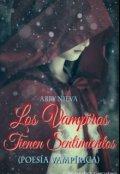 """Portada del libro """"Los Vampiros Tienen Sentimientos"""""""