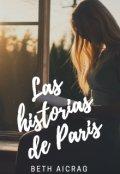 """Portada del libro """"Las Historias De Paris """""""