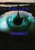 """Book cover """"Fallen"""""""