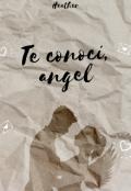 """Portada del libro """"Te conocí, angel #1 (terminada) """""""