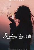 """Portada del libro """"Broken Hearts"""""""