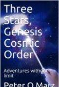 "Portada del libro ""Three Stars, Genesis Cosmic Order"""