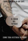 """Portada del libro """"El chico del tatuaje"""""""