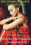 "Book cover ""My Virgin Maid"""