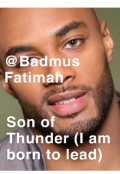 """Book cover """"Son Of Thunder (i am born to lead)"""""""